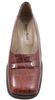 Georgio Pacini 7244 Women's Mid Heel Leather And Print Crocodile Pump