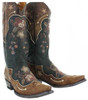 Old Gringo Women's L696-10 Bonnie Pipin  Western Boots,Black/Bone