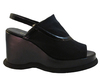 Davinci Women's 3106 Italian Sling Back Wedge Heel Sandals