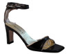 Lamica Women's 1271 Italian Tie Back Strap Sandals