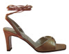 Lamica Women's 1269 Italian Leather Ankle Straps Sandals