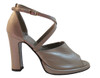 Davinci Women's F275 Italian Leather Peep Toe Sandals