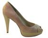 BCBGIRLS Women's Fuller High Heel Peep Toe Pump