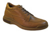 Low Tide Men's Italian 27046 Round Toe Lace Up Casual Shoes in Tan