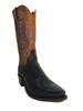 Lucchese 1883 Men's Cowboy Boots N8953.54 Lizards Navy Blue