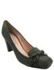 Barachini 12262 Women's Italian Leather Dressy Pump green suede