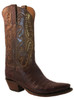 Lucchese Classic Men's Cowboy Boot E2144.54 Sienna Caiman Antique Brown
