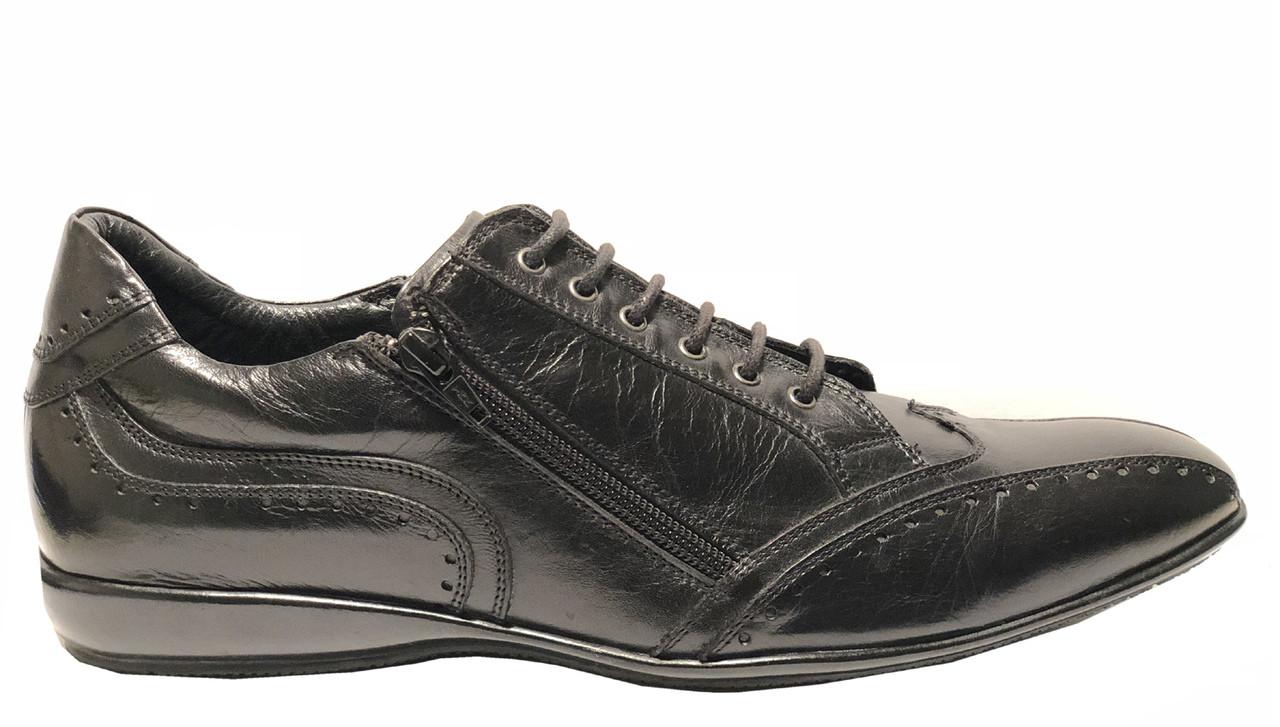 online store 4cfa0 5438a X Bacco Men's Italian Designer Sneakers Black and Brown
