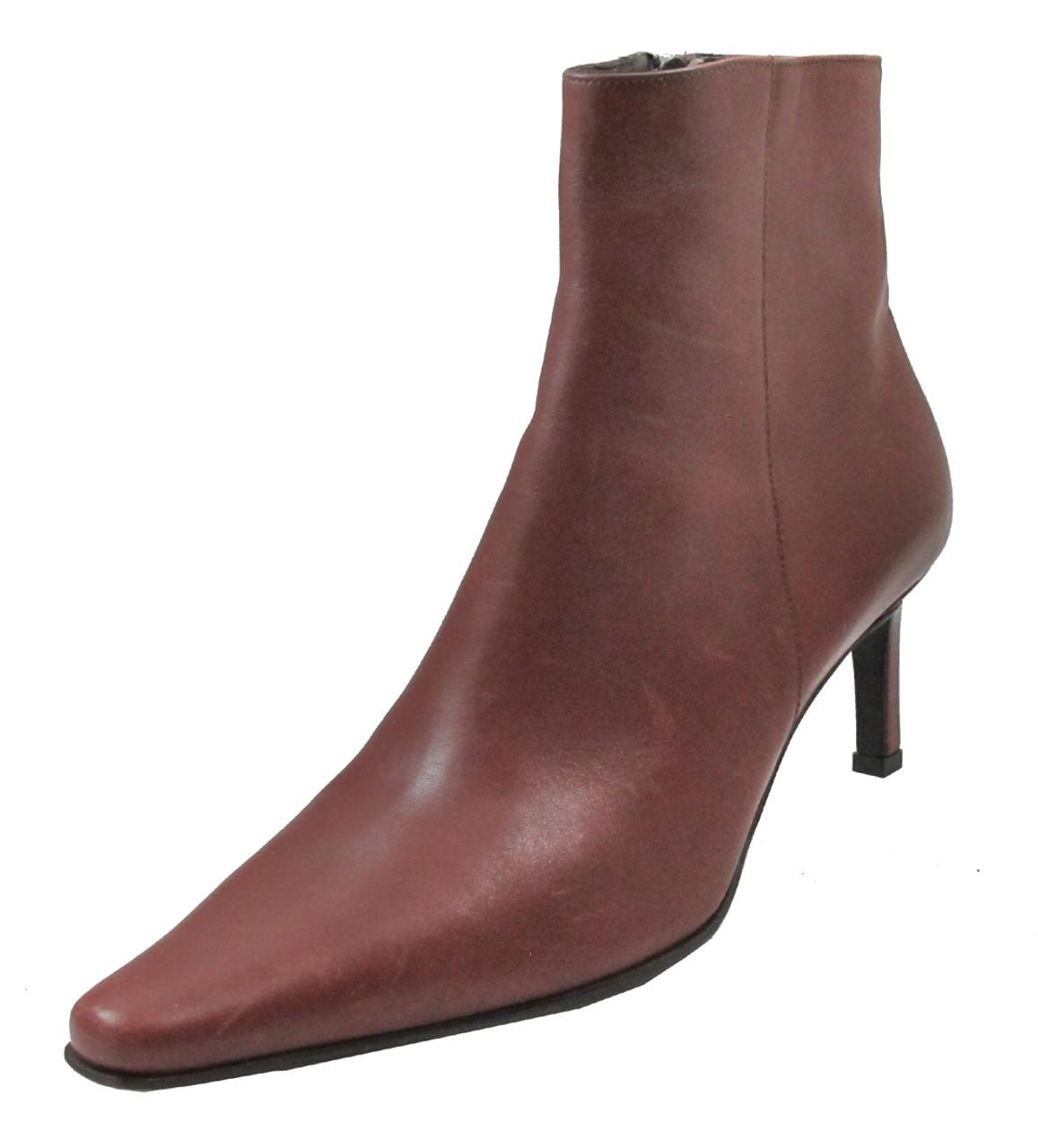 Italian Ankle Dressy Snip Toe Boot
