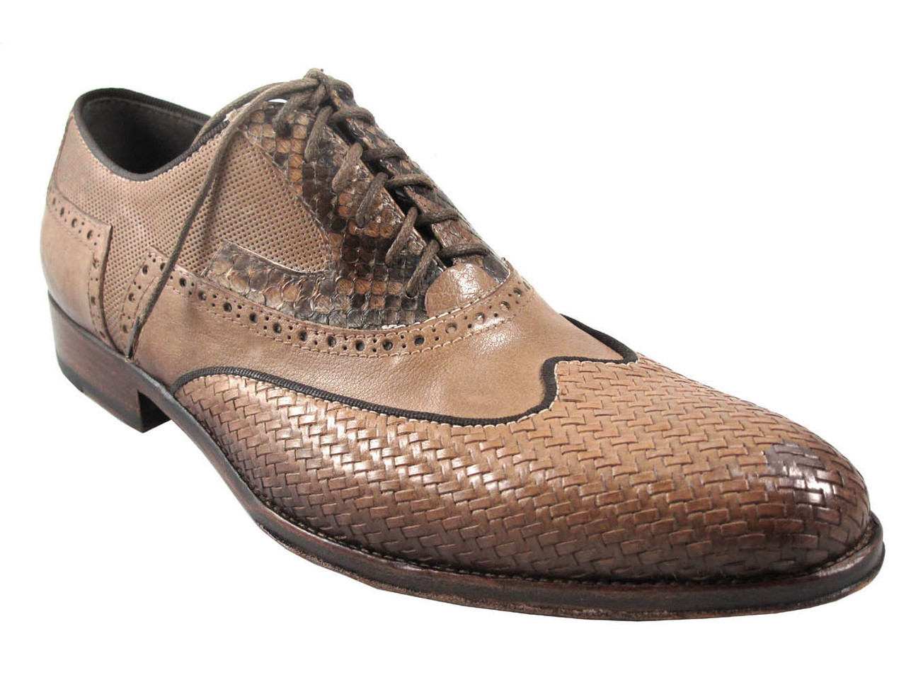 Jo Ghost 3574 Men's Woven Leather Lace