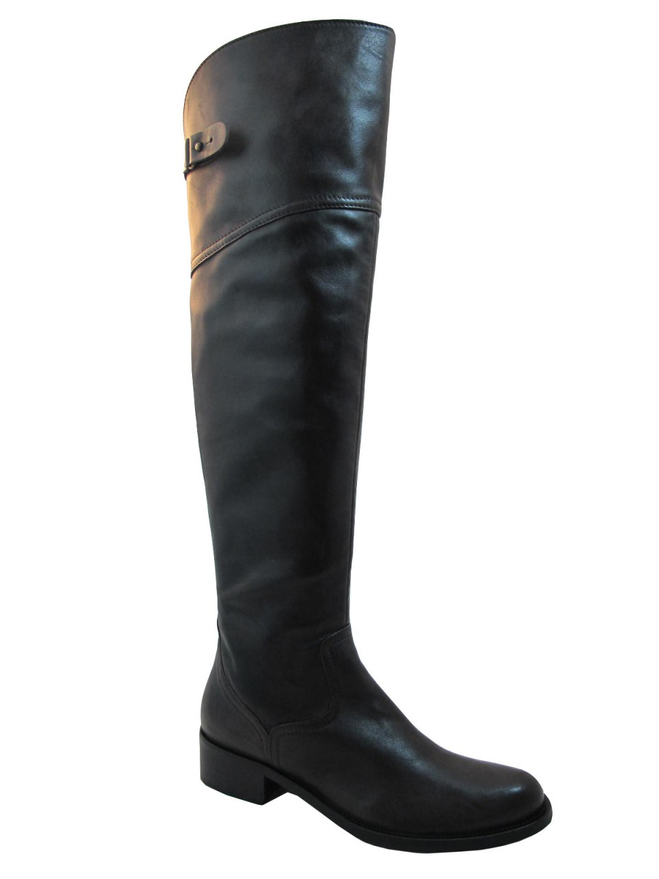 great deals 2017 los angeles official shop Women's Davinci Italian Leather 2580 Knee High boots Brown