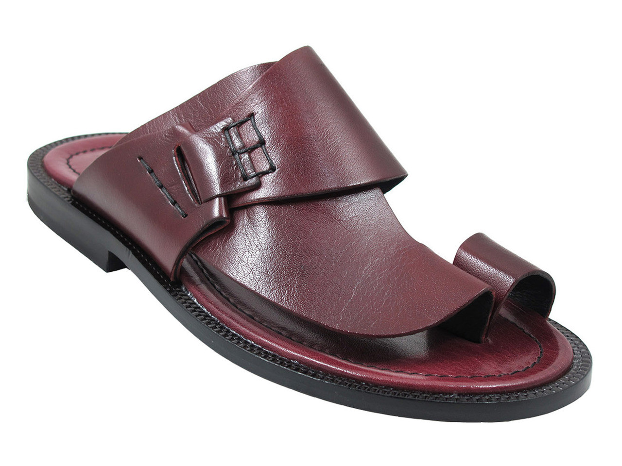 Men's Davinci Italian Leather Push Toe