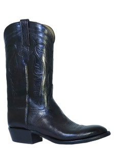 Lucchese L1580 Classics Black Cherry Buffalo Boots
