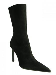 Women's Pointy Toe Suede Midcalf Boot By Antonio Eboli 4511