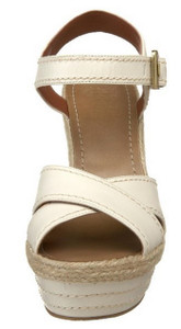 Vince Camuto Women's Edon Wedge Sandal, Off White