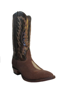 Nocona Men's Cowboy Boots Stingray 1272, Brown
