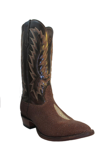 Nocona Men's Cowboy Boots Stingray 1272, Brown