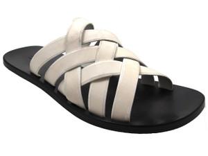 Davinci 9111 Men's Leather Strappy Slip on Sandal