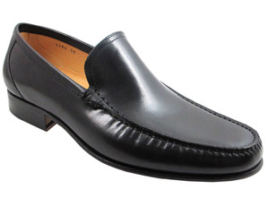 Davinci 1396 Men's Italian Slip-on Dressy Loafer White, Brown
