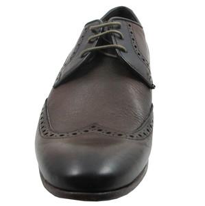 Davinci 9799 Men's Wash Sigaro(Brown) Italian Lace Up Dress Shoes
