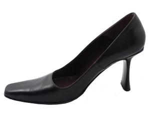 Davinci 3116 Women's Italian Round Toe Mid Heel Pump in Black