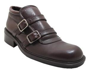 Gatsby Men's 22304 double strap slip on men's italian shoes in bordo