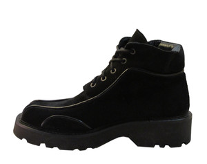 Davinci Men's Ankle suede boot 8436 Black
