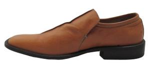 Davinci Men's 5009 Slip-on Square Toe Italian Leather Shoes