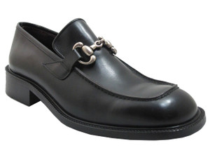 Ecce Homo Men's 16838 Round Moc Toe Slip-On Shoes
