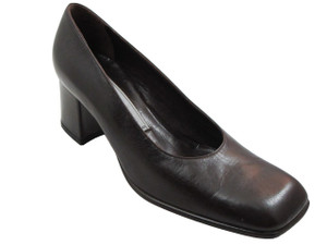 Alberto Zago Italian women pump 1554 in black