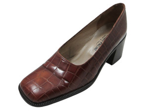 Georgio Pacini 7244 Women Brown Croco