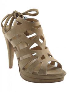Women's Davinci Italian High Heel Dressy Leather Sandals 2673
