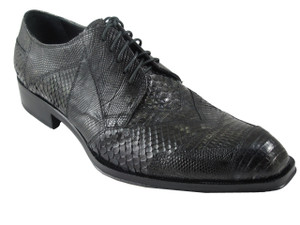 Jo Ghost 1732 Luxurious Men's Exotic Lace-Up Oxford Shoes