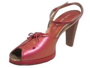 Don Miguel  2039 Italian Women's Mid Heel Dressy Sandals