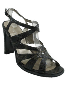 Davinci F92 Women's Italian designer Mid Heel Strappy Sandal