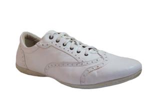 8308 White Italian sneakers