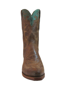 """Lucchese Women's M4620 10"""" western boot Tan"""