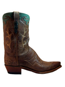 "Lucchese Women's M4620 10"" western boot Tan"