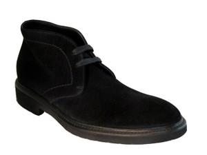 Doucal's men's 1018 ankle boot black