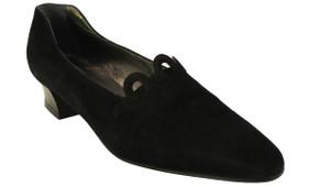 Mima Women suede low heel pump