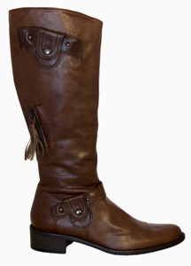 Lamica Italian Women's Iga-Pe Brown