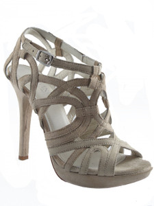 Women's Davinci Italian Dressy High Heel Sandals Avalable Black Suede And Beige Suede 3756