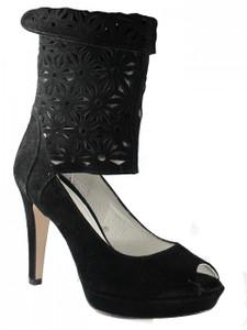 Women's Davinci Italian Dressy High Heel Leather Sandals 3830