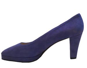 Sacha London Women's 4553 Purple Italian Pump