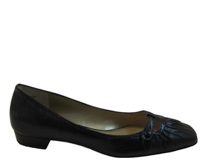Franco Sarto Women's Features Slip on Flat Shoes  Black