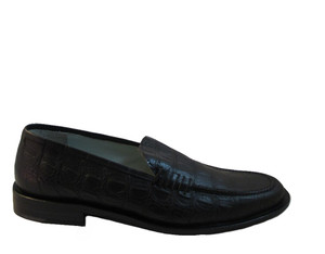 Rodolfo Zengarini Men's 3005 Italian Dressy Slip On Shoes
