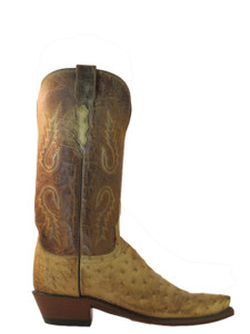 Lucchese Women's  Ostrich Cowboy Boot 4031