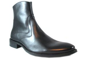 Morandi Men's 4086 Leather Dressy Italian Ankle Boots