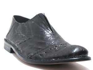 Boemos Italian Slip on Shoes 6122 Black