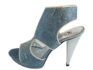 Women's Biondini Italian Designer Ankle Sandale Leather 7527
